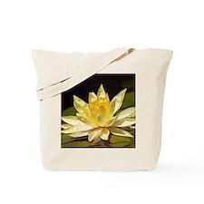 Water Flowers Tote Bag