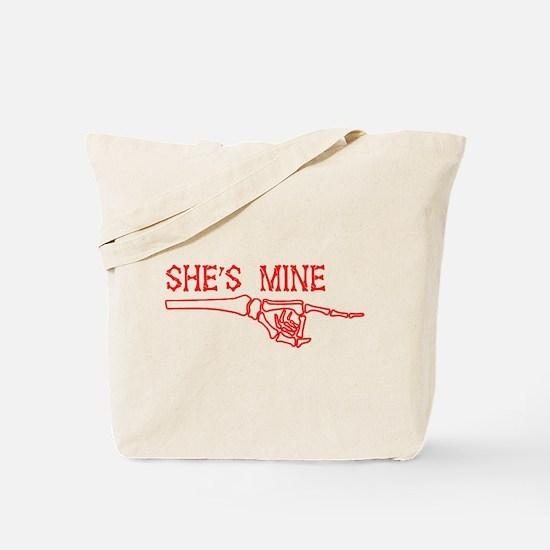 She's Mine Tote Bag
