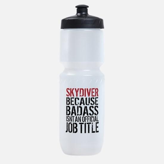 Badass Skydiver Sports Bottle
