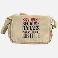 Badass Skydiver Messenger Bag