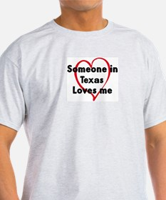 Loves me: Texas T-Shirt