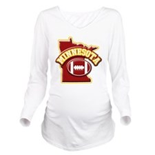Cute Colleges logo Long Sleeve Maternity T-Shirt