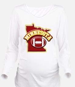 Cute Gophers sports Long Sleeve Maternity T-Shirt
