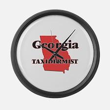Georgia Taxidermist Large Wall Clock