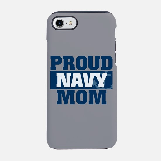 US Navy Proud Navy Mom fb iPhone 8/7 Tough Case