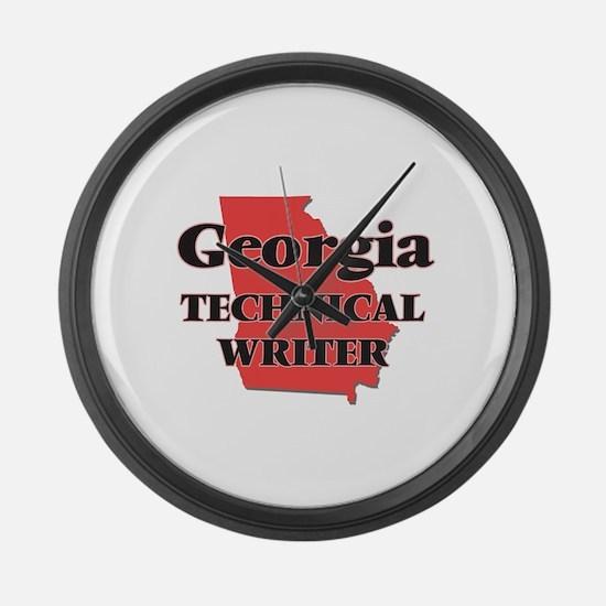 Georgia Technical Writer Large Wall Clock