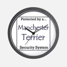 Manchester Security Wall Clock