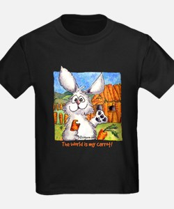 Cartoon Rabbits Kids T-Shirt