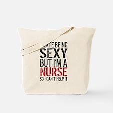 Sexy Nurse Tote Bag