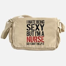 Sexy Nurse Messenger Bag