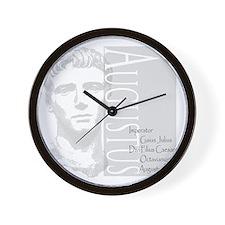 AUGUSTUS, IMERATOR Wall Clock