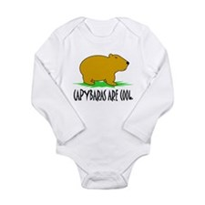 Cute Pet rats Long Sleeve Infant Bodysuit