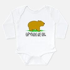 Unique Zoo animals Long Sleeve Infant Bodysuit