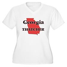 Georgia Thatcher Plus Size T-Shirt