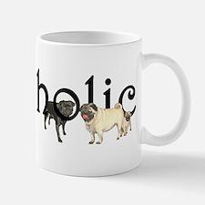 Pugaholic Ceramic Pug Mugs