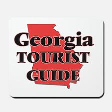 Georgia Tourist Guide Mousepad