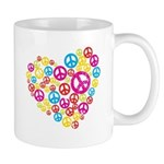 Love & Peace in Heart Mug