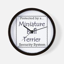 Mini Bull Security Wall Clock