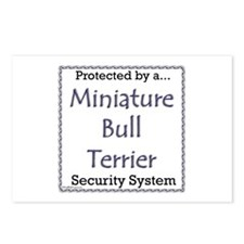 Mini Bull Security Postcards (Package of 8)