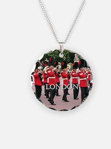 Guards Band, London (caption Necklace
