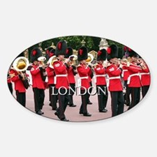 Guards Band, London (caption) Decal