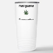 Marijuana Supporter Travel Mug