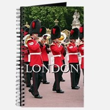 Guards Band, London (caption) Journal