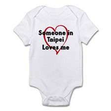 Loves me: Taipei Infant Bodysuit