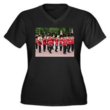 Guards Band, London (caption) Plus Size T-Shirt
