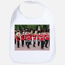 Guards Band, London (caption) Bib
