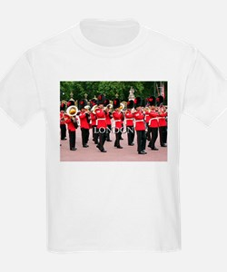 Guards Band, London (caption) T-Shirt