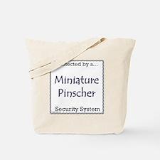 Min Pin Security Tote Bag