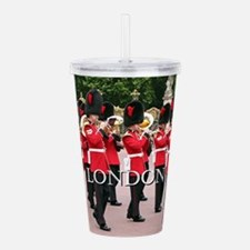Guards Band, London (c Acrylic Double-wall Tumbler