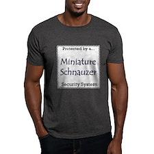 Mini Schnauzer Security T-Shirt