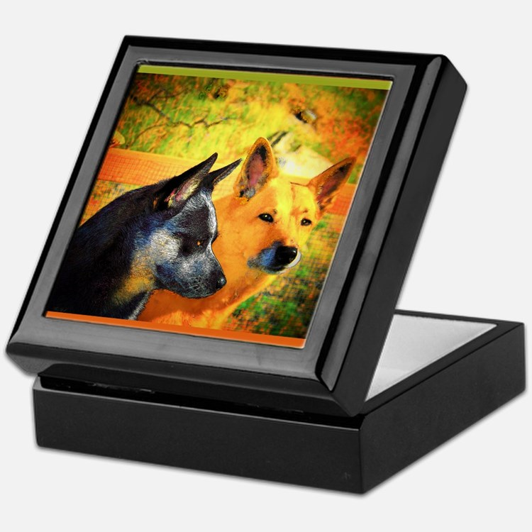 """RednBlue ACD"" AuCaDogs - Keepsake Box"