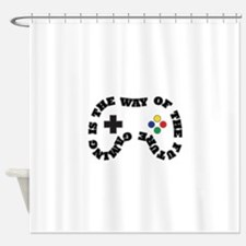 Future Gaming Shower Curtain