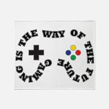Future Gaming Throw Blanket