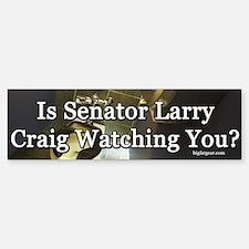 Senator Larry Craig Bumper Bumper Bumper Sticker