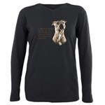 Dream Plus Size Long Sleeve Tee