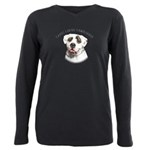 Mans Best Friend Plus Size Long Sleeve Tee