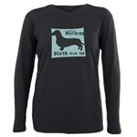 death4.png Plus Size Long Sleeve Tee