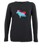 pawprints.png Plus Size Long Sleeve Tee