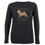 attitude.png Plus Size Long Sleeve Tee
