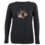 usa.png Plus Size Long Sleeve Tee