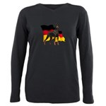 flag3.png Plus Size Long Sleeve Tee