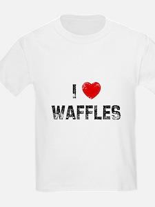 I * Waffles T-Shirt