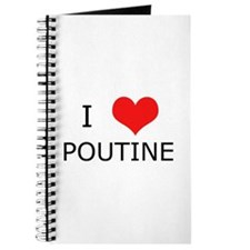 I Love Poutine Journal