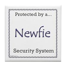 Newfie Security Tile Coaster