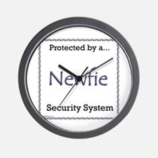 Newfie Security Wall Clock