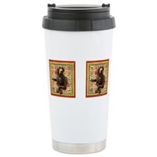 Cute Chocolate labrador Travel Mug